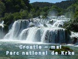 Croatie Parc national de Krka 05/2015